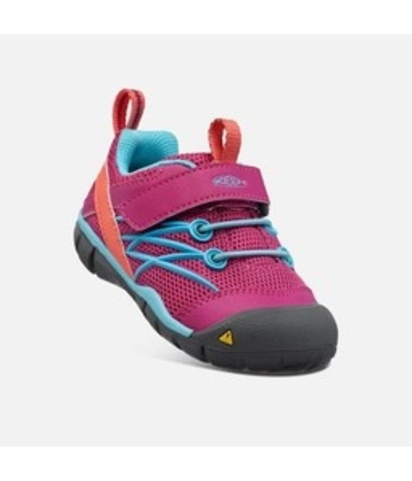 KEEN CHANDLER CNX TODDLER - BRIGHT PINK/LAKE GREEN