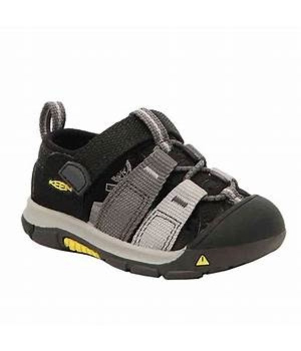 KEEN NEWPORT H2 TODDLER - BLACK/MAGNET