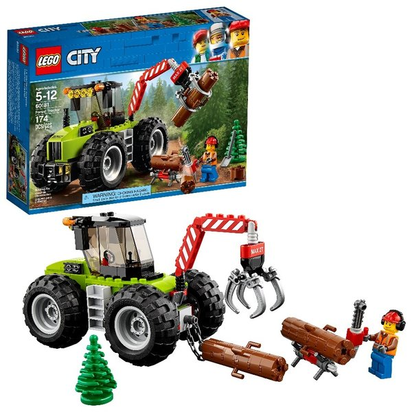 CITY FOREST TRACTOR