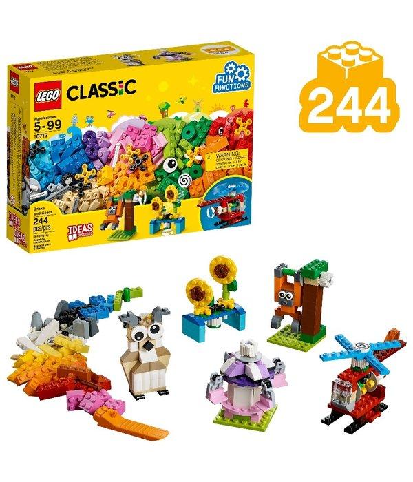 LEGO LEGO CLASSIC BRICKS AND GEARS