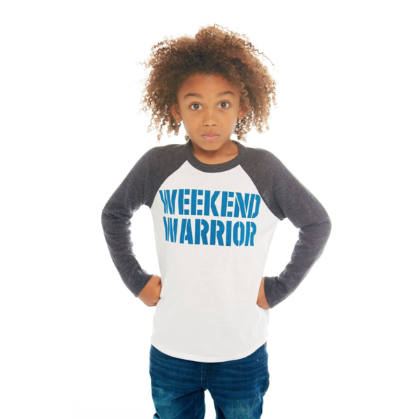 PRESCHOOL BOYS WEEKEND WARRIOR L/S RAGLAN TEE