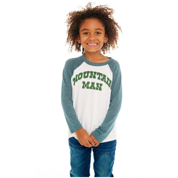 PRESCHOOL BOYS MOUNTAIN MAN L/S RAGLAN TEE