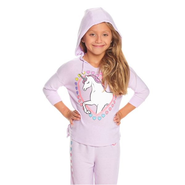 PRESCHOOL GIRLS UNICORN COZY KNIT PULLOVER
