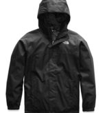 THE NORTH FACE JUNIOR BOYS RESOLVE REFLECTIVE JACKET - TNF BLACK - SIZE SMALL (7/8) ONLY