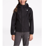 THE NORTH FACE JUNIOR GIRLS RESOLVE REFLECTIVE JACKET - TNF BLACK
