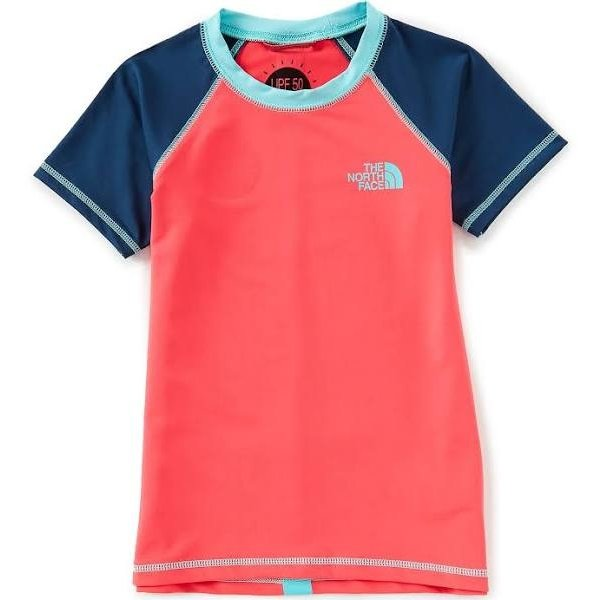 JUNIOR GIRLS S/S AMPHIBIOUS TEE - ATOMIC PINK