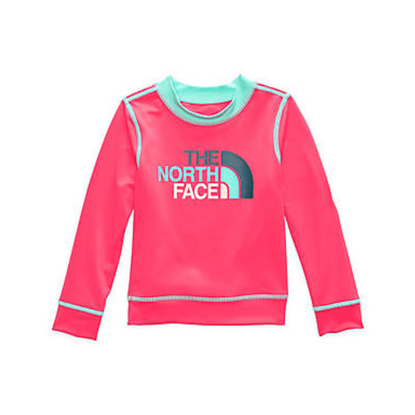 PRESCHOOL GIRLS L/S HIKE/WATER TEE - ATOMIC PINK