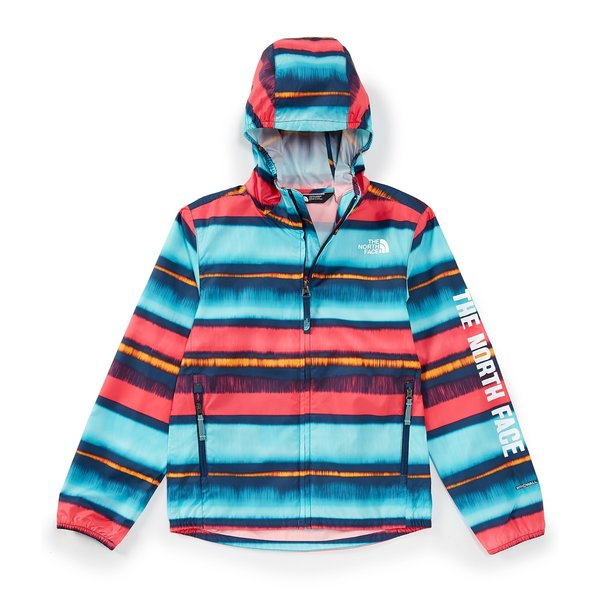 JUNIOR GIRLS FLURRY WIND HOODIE - COASTAL STRIPE