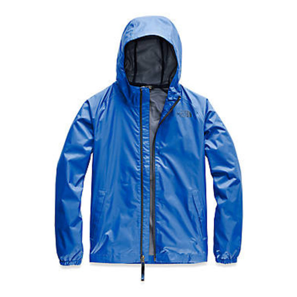 JUNIOR BOYS ZIPLINE RAIN JACKET - TURKISH SEA