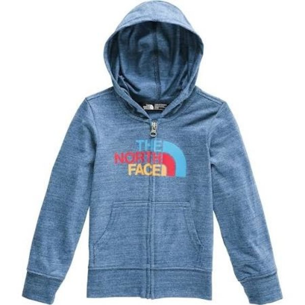 PRESCHOOL BOYS TRI-BLEND F/Z HOODIE - SHADY BLUE