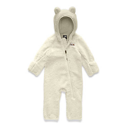 THE NORTH FACE INFANT CAMPSHIRE ONE PIECE - VINTAGE WHITE