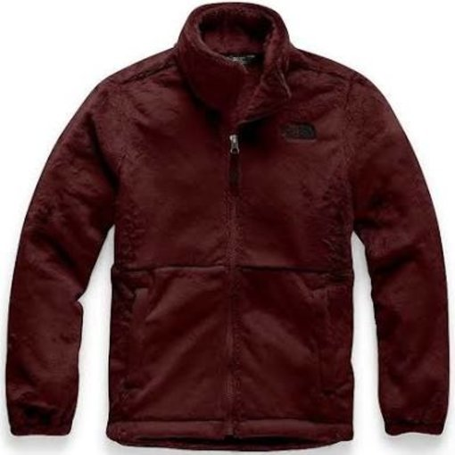 THE NORTH FACE JUNIOR GIRLS OSOLITA JACKET - DEEP GARNET