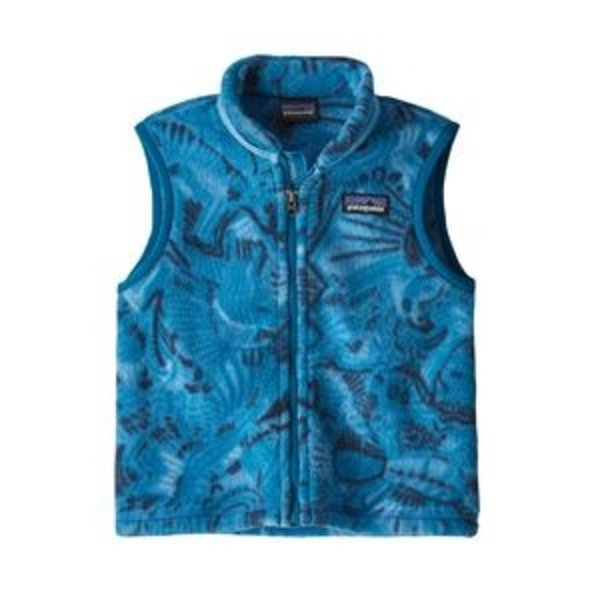 INFANT BOYS SYNCHILLA VEST - TASSY TAILS