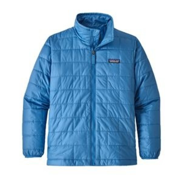 JUNIOR BOYS NANO PUFF JACKET - PORT BLUE