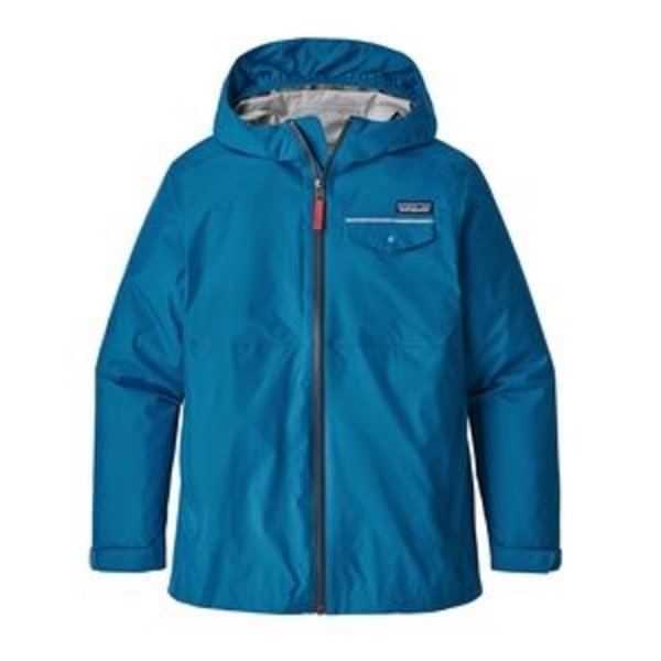 JUNIOR BOYS TORRENTSHELL JACKET - BALKAN BLUE
