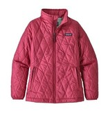 PATAGONIA JUNIOR GIRLS NANO PUFF JACKET - REEF PINK