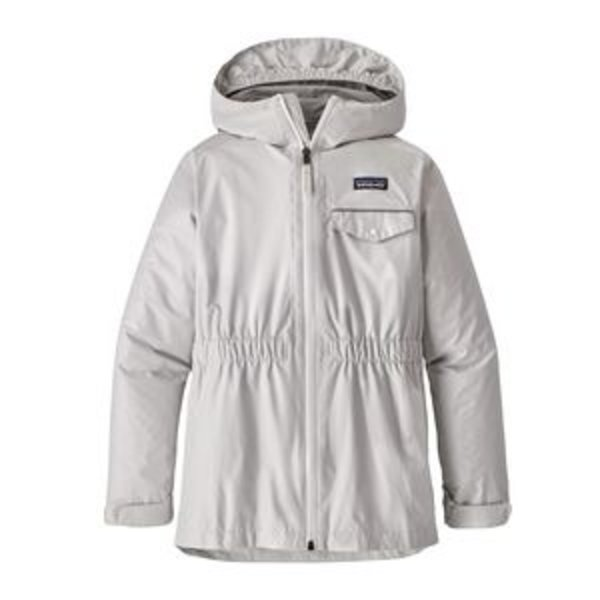 JUNIOR GIRLS TORRENTSHELL JACKET - BIRCH WHITE