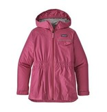 PATAGONIA JUNIOR GIRLS TORRENTSHELL JACKET - REEF PINK