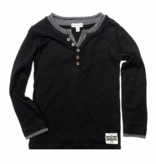 APPAMAN CAMDEN LONG SLEEVE - BLACK - SIZE 4T ONLY