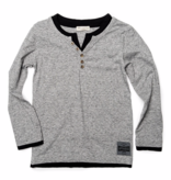 APPAMAN CAMDEN LONG SLEEVE - HEATHER GREY - SIZE 5 ONLY