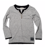 CAMDEN LONG SLEEVE - HEATHER GREY - SIZE 5 ONLY