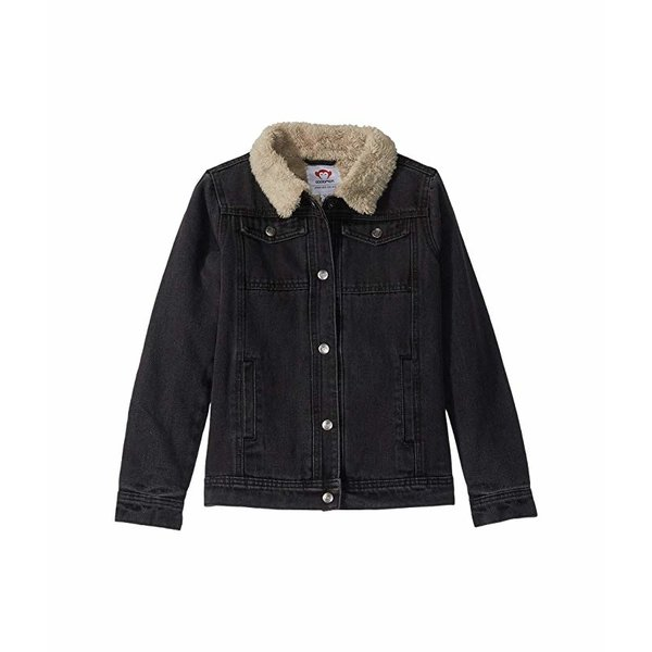 HARRISON DENIM JACKET - BLACK - SIZE 4T ONLY