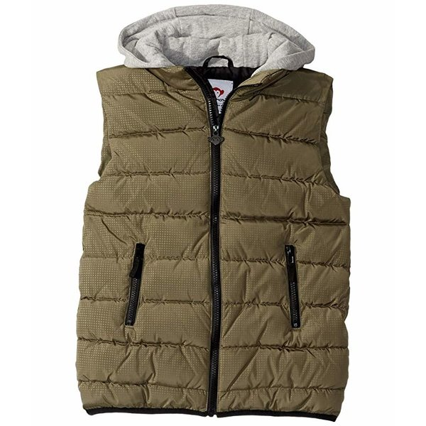 APEX PUFFER VEST - OLIVE - SIZE 3T ONLY
