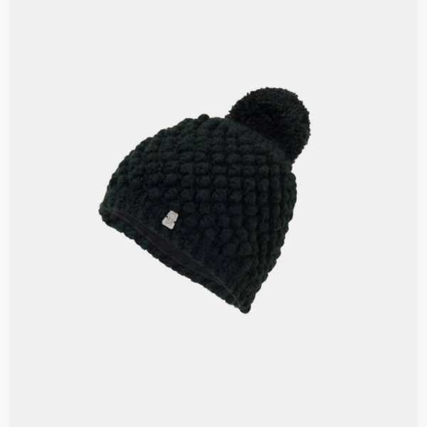 JUNIOR GIRLS BRRR BERRY HAT - BLACK