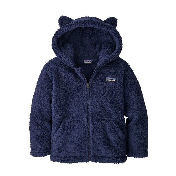 TODDLER FURRY FRIENDS HOODY - NEO NAVY