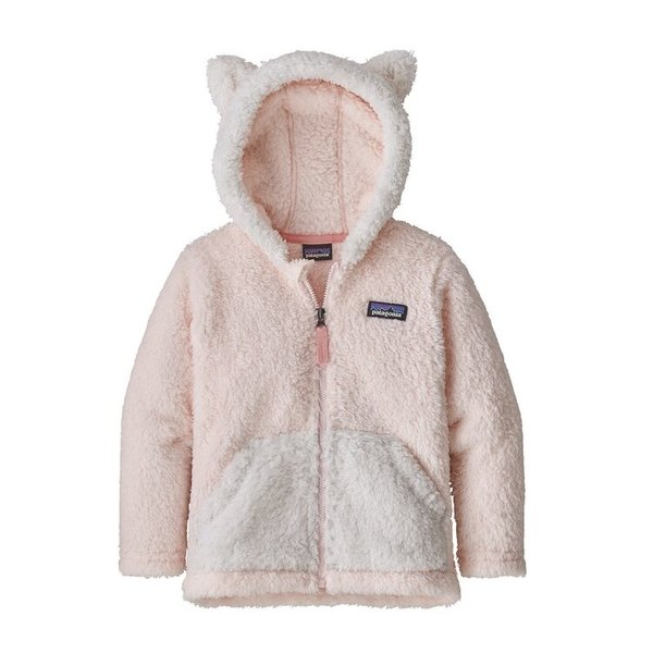 TODDLER FURRY FRIENDS HOODY - PRIMA PINK