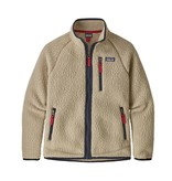 PATAGONIA JUNIOR BOYS RETRO PILE JACKET - EL CAP KHAKI