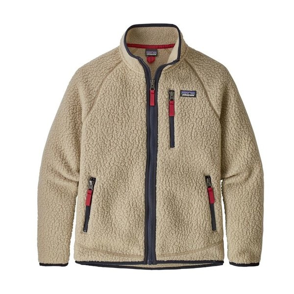 JUNIOR BOYS RETRO PILE JACKET - EL CAP KHAKI