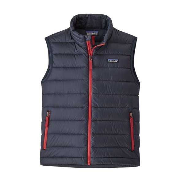 JUNIOR BOYS DOWN VEST - NEW NAVY