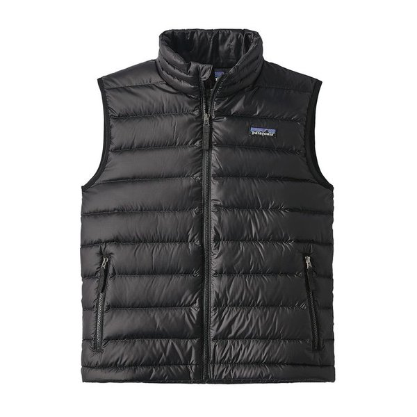 JUNIOR BOYS DOWN VEST - BLACK
