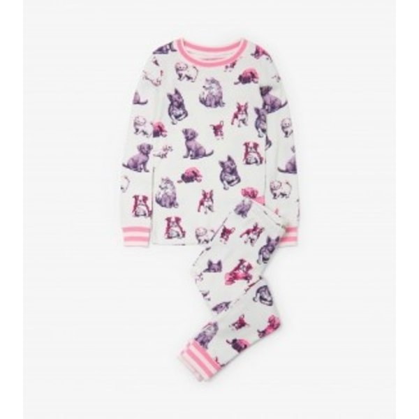 PRECIOUS PUPS PJ SET - SIZE 3 ONLY
