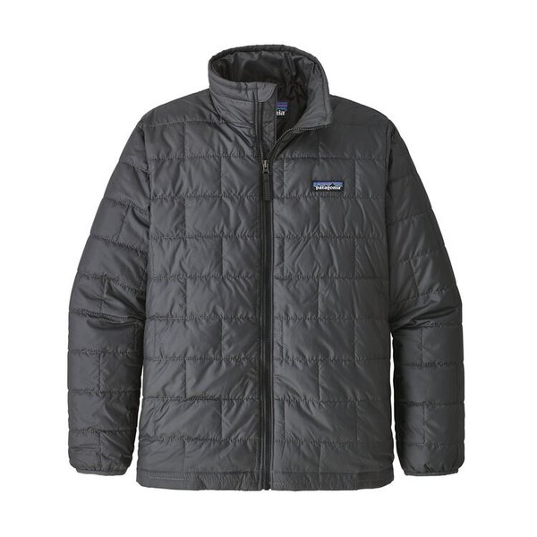 JUNIOR BOYS NANO PUFF JACKET - FORGE GREY