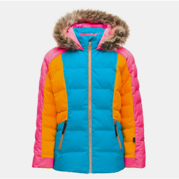 JUNIOR GIRLS ATLAS JACKET - LAGOON