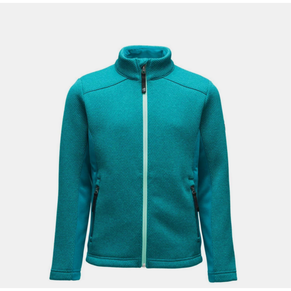 JUNIOR GIRLS ENCORE FLEECE JACKET - SWELL