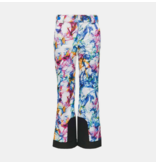 SPYDER JUNIOR GIRLS OLYMPIA PANT - EUREKA PRINT