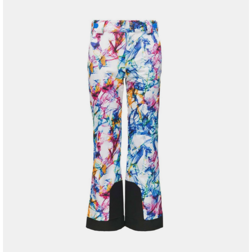 SPYDER JUNIOR GIRLS OLYMPIA PANT - EUREKA PRINT - SIZE 14 ONLY