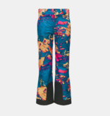 SPYDER JUNIOR GIRLS OLYMPIA PANT - GLACIER PRINT - SIZE 14 ONLY