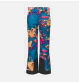SPYDER JUNIOR GIRLS OLYMPIA PANT - GLACIER PRINT
