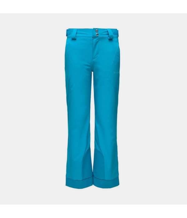 SPYDER JUNIOR GIRLS OLYMPIA PANT - LAGOON - SIZE 16 ONLY
