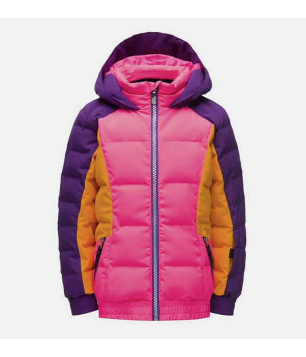 SPYDER BITSY GIRL ATLAS JACKET - BRYTE BUBBLEGUM