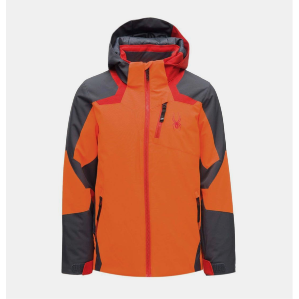 JUNIOR BOYS LEADER JACKET - BRYTE ORANGE