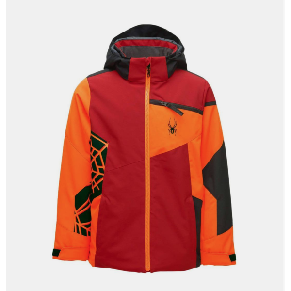 JUNIOR BOYS CHALLENGER JACKET - VOLCANO