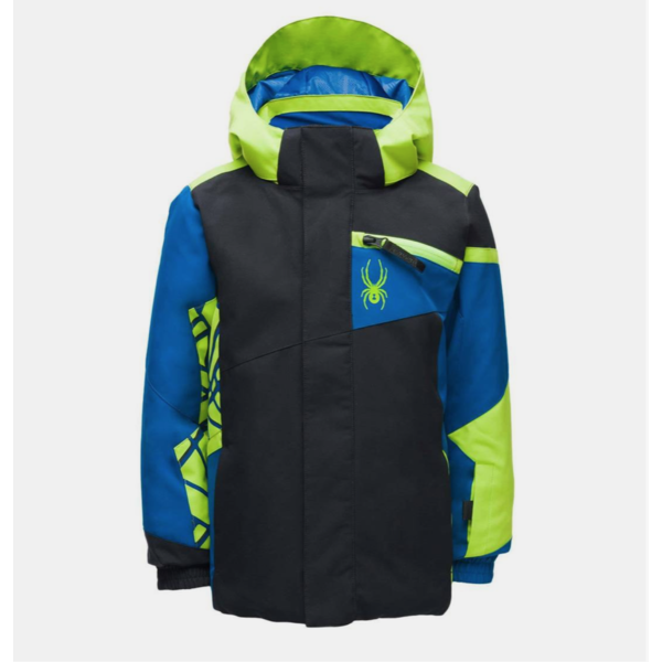 MINI BOYS CHALLENGER JACKET - BLACK