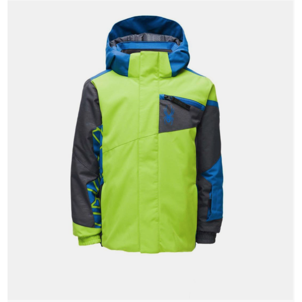 MINI BOYS CHALLENGER JACKET - MOJITO - SIZE 3 ONLY
