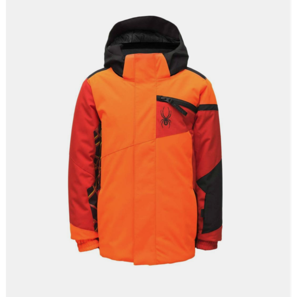 MINI BOYS CHALLENGER JACKET - BRYTE ORANGE