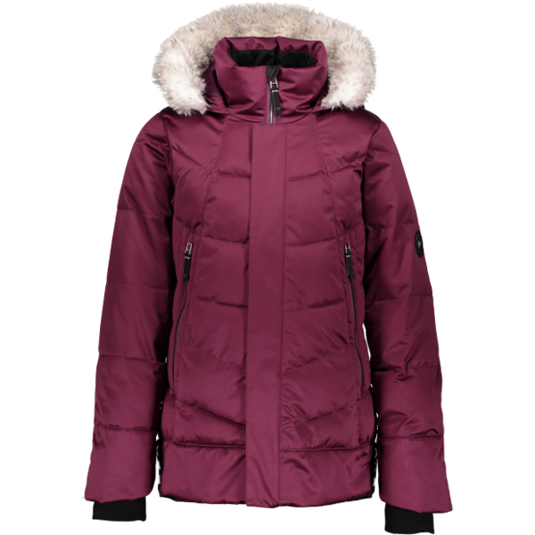 JUNIOR GIRLS MEGHAN SKI JACKET - DROP THE BEET